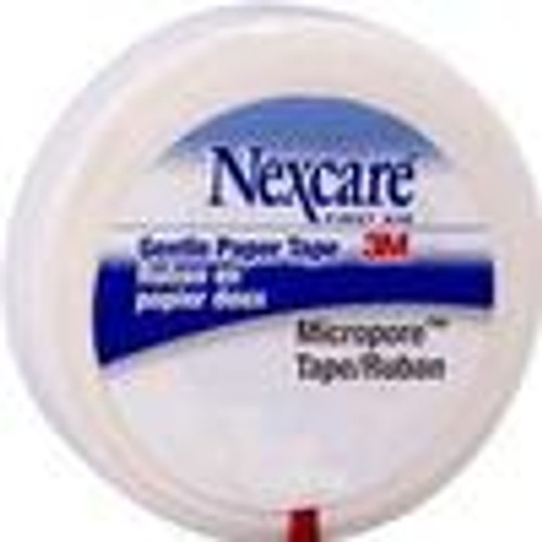 "3M 530-P1/2 NEXCARE SURGICAL TAPE, 1/2"" x 10YDS 1/RL"