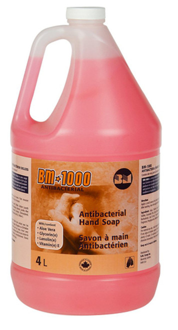 SOAP HAND ANTIBACTERIAL DELUXE NON DRYING 4 litre 009-BM-1000
