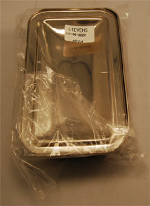 TRAY S/S w/COVER 9 x 5-1/8 x 2in STRAP HANDLE 197-90-2220