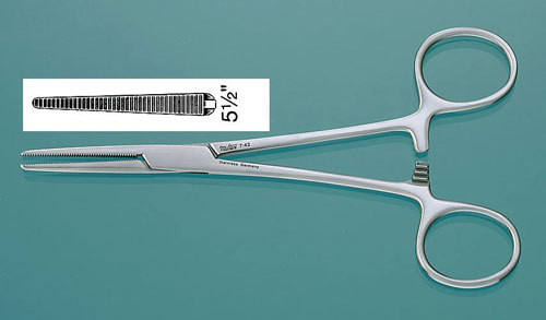 162-7-46 FORCEPS CRILE 6.25in STR