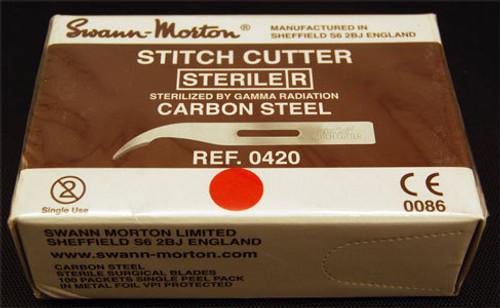 184-0420 CUTTER STITCH SWANN-MORTON C/S STANDARD BX/100