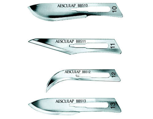 206-A19BB511 BLADE SCALPEL #11 C/S STERILE AESCULAP BX/100