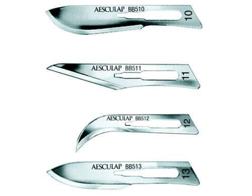 206-A19BB511 BLADE SCALPEL #11 C/S STERILE AESCULAP BX/100