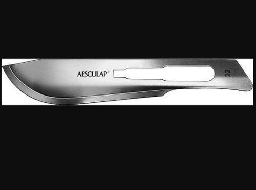 206-A19BB522 BLADE SCALPEL #22 C/S STERILE AESCULAP BX/100