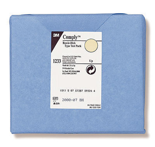 3M-00135LF-CA TEST STERILIZATION BOWIE-DICK TYPE && COMPLY w/EARLY WARNING CA/30