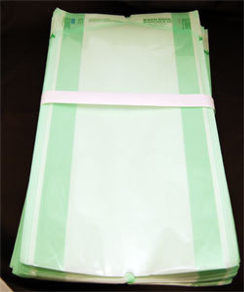 164-B34 POUCH AUTOCLAVE GUSSETED STERIKING CLEAR 12 x 3 x 22in CA/250 P24