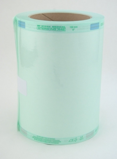 164-R42/31 ROLL AUTOCLAVE FLAT CLEAR STERIKING 6in x 100ft/RL