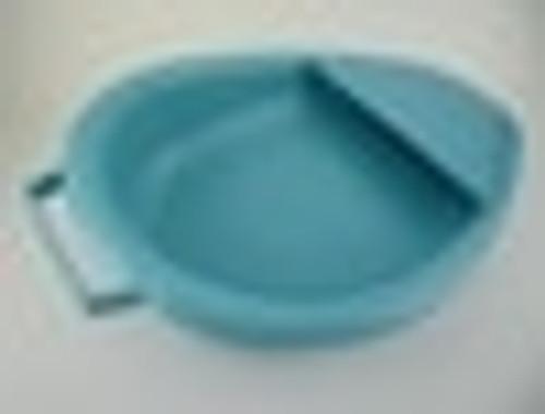 BEDPAN FRACTURE AUTOCLAVABLE LARGE BLUE w/ HANDLE CA/6 193-00083-CA