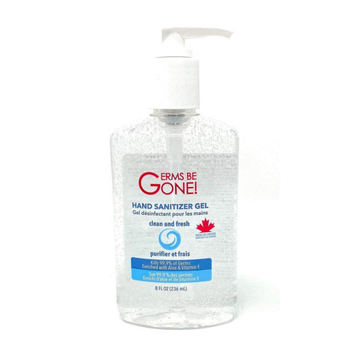 Germs Be Gone CLS-028G HAND SANITIZER GEL, 236ML (8OZ) (pack of 24)