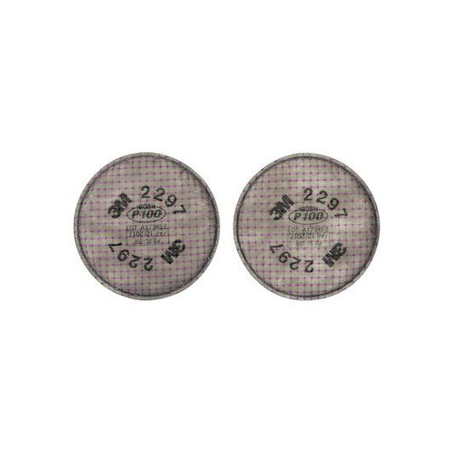 3M 2297 Advanced Particulate Filter P100, For 3M 6000,6500, 7000, Each