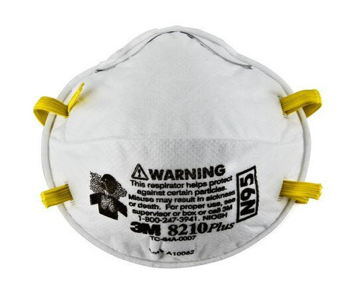 3M 8210Plus Performance Respirator, BX/20, BX