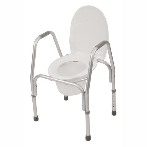 """3-in-1 economy commode, adjustable 19"""" - 23"""" (7025) (7025)"""