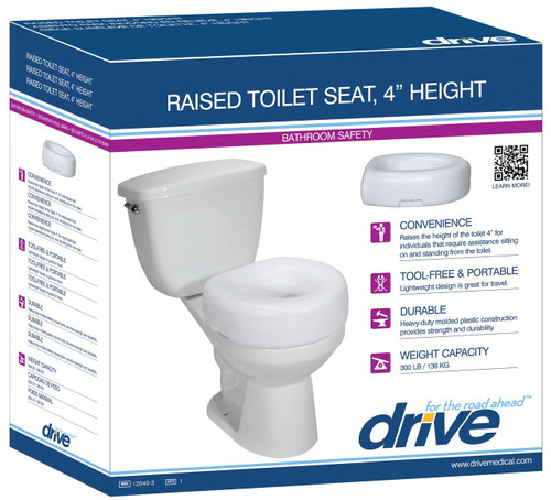 Groovy Drive Devilbiss 12038 3 Raised Toilet Seat 12038 3 Pdpeps Interior Chair Design Pdpepsorg