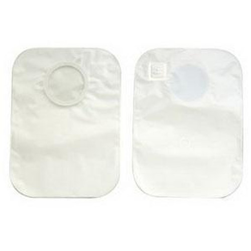 """2-Piece CenterPointLock Closed Pouch Odor-barrier rustle-free pouch, deodorizing filter. 9"""" Length BX/15 (HOL-3343) (Hollister 3343)"""