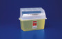 Covidien 31353611 CONTAINER GATORGUARD JR & TRANSLUCENT YELLOW, Each