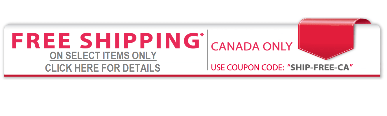 Fre Shipping within Canada on products within Free Shipping Category