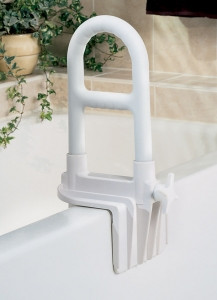 Excellent Medline G98006H Guardian Bathtub Grab Bar Bi Level Ibusinesslaw Wood Chair Design Ideas Ibusinesslaworg
