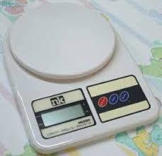Novum NK2000 Diaper Scale, Battery Operated, 2000 gram x 1 gram