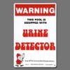 """Poolmaster """"Urine Detector"""" Sign (#41350)"""