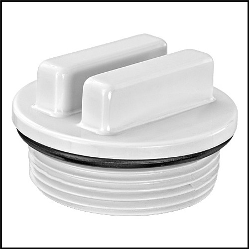 """American Granby Inc. 1 1/2"""" Raised Style Plastic Plug With O-Ring (#HWP1022C)"""