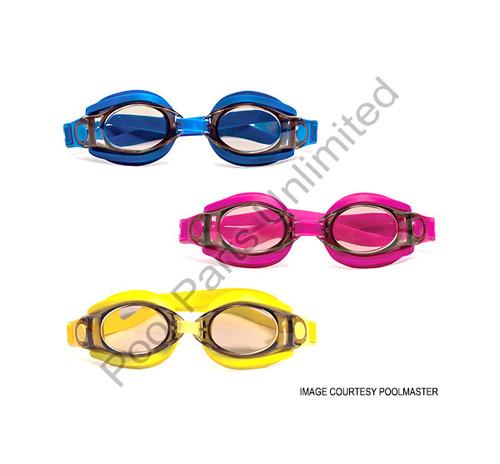 Poolmaster Fog Free Silicone Swimming Goggles (#94750)