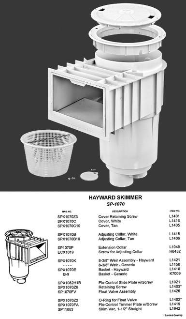 HAYWARD SP10712 SKIMMER