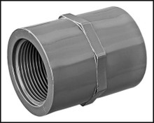"Lasco 835-015 1.5/""Slip x 1.5/""FPT Schedule 80 PVC Female Adapter 835-01"