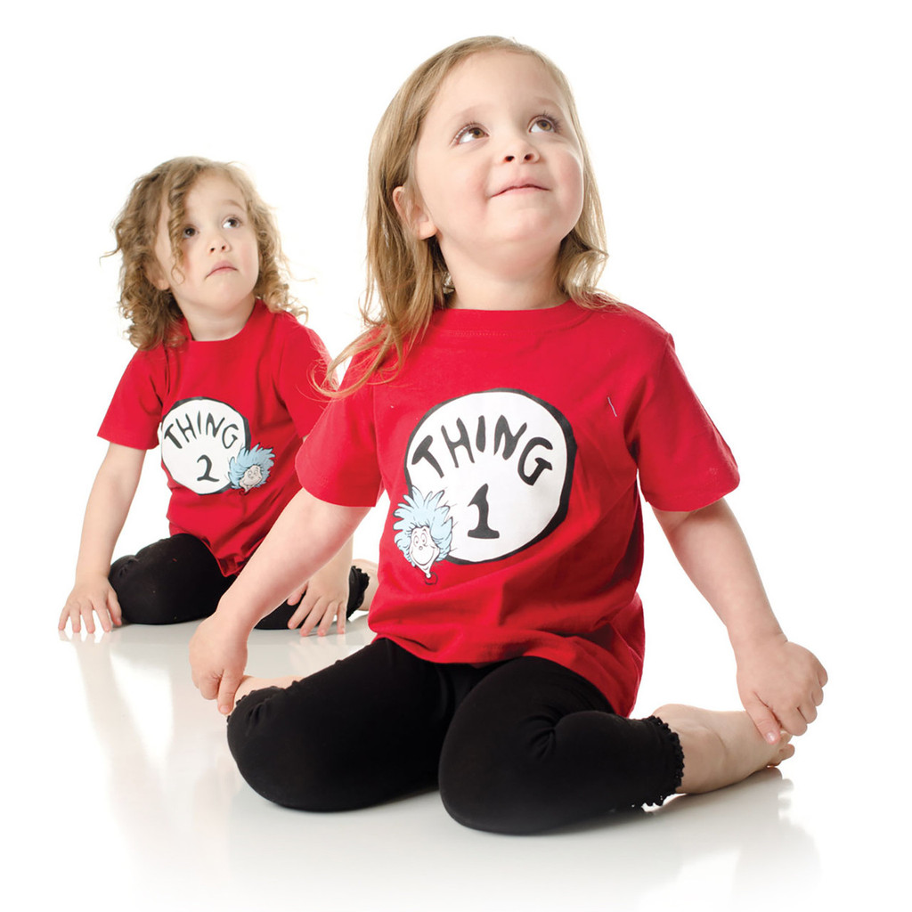 Thing 1 and Thing 2 Toddler Shirt Set - Stuff 4 Multiples b2827f2c0