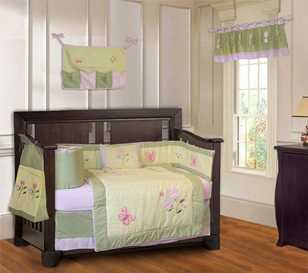 Daisy 9 Piece Crib Bedding Set