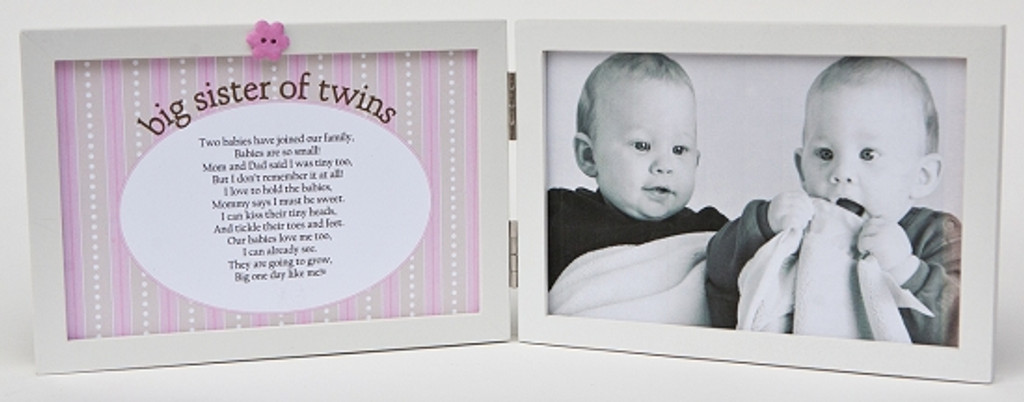 Big Sister of Twins Picture Frame