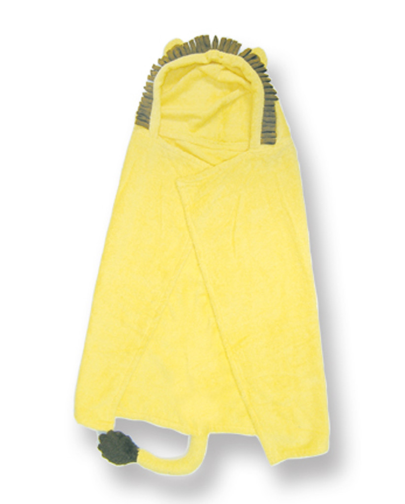 Lion Character Hooded Towel