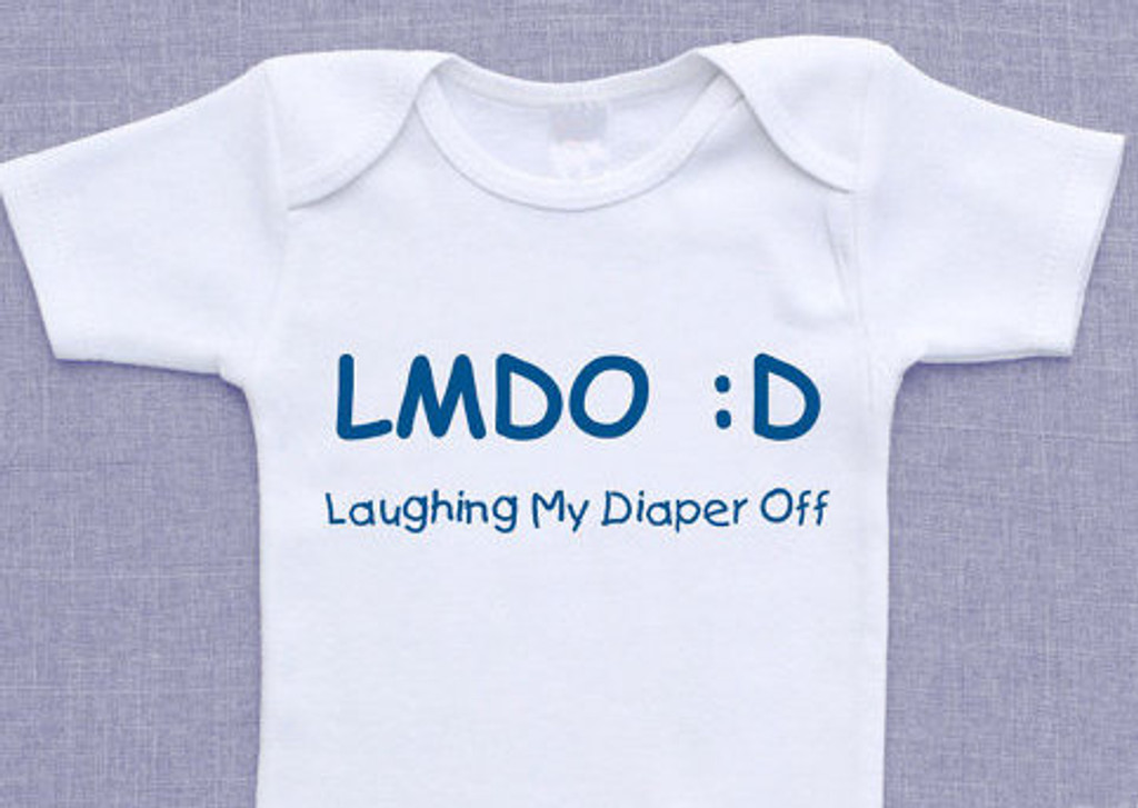 LMDO Laughing My Diaper Off Shirt Set