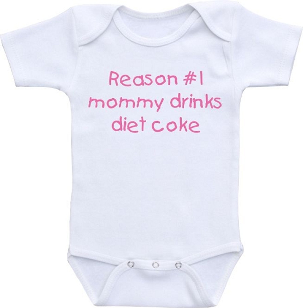 Reasons 1 and 2  Mommy Drinks Coffee Shirt Set