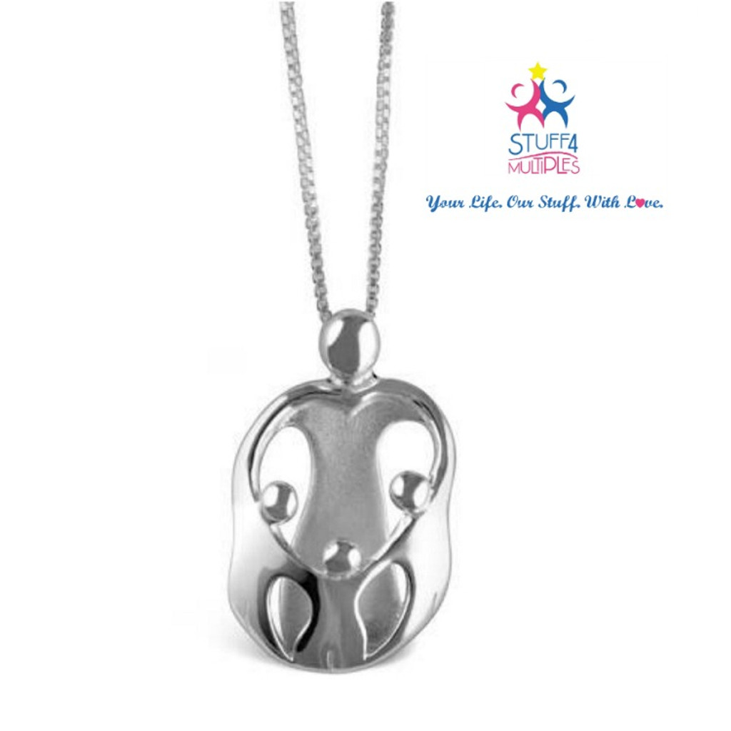 Mother of Triplets Necklace