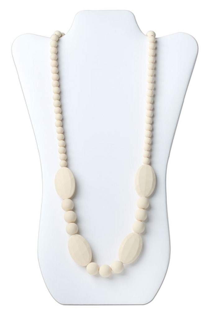 Silicone Teething Jewelry- Ellisse Necklace