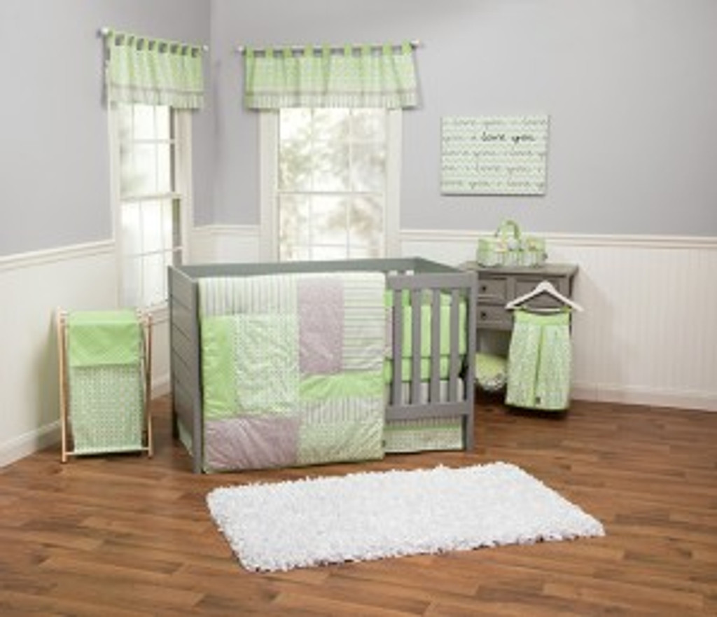 Lauren 3PC Crib Bedding Set