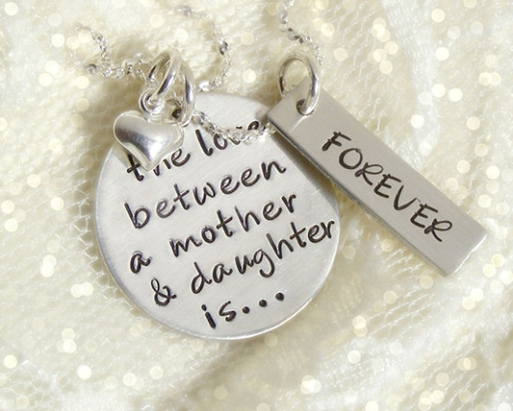 Forever Love Mother/Daughter Necklace