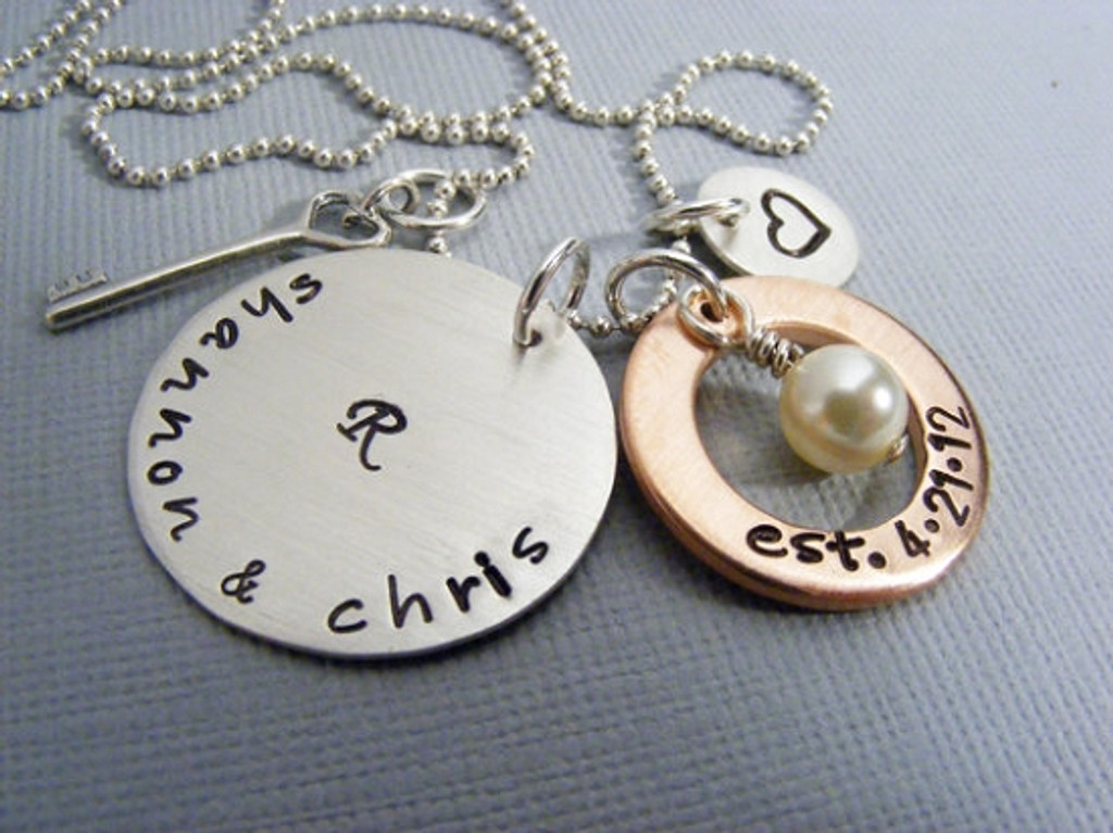 Personalized Couples Necklace