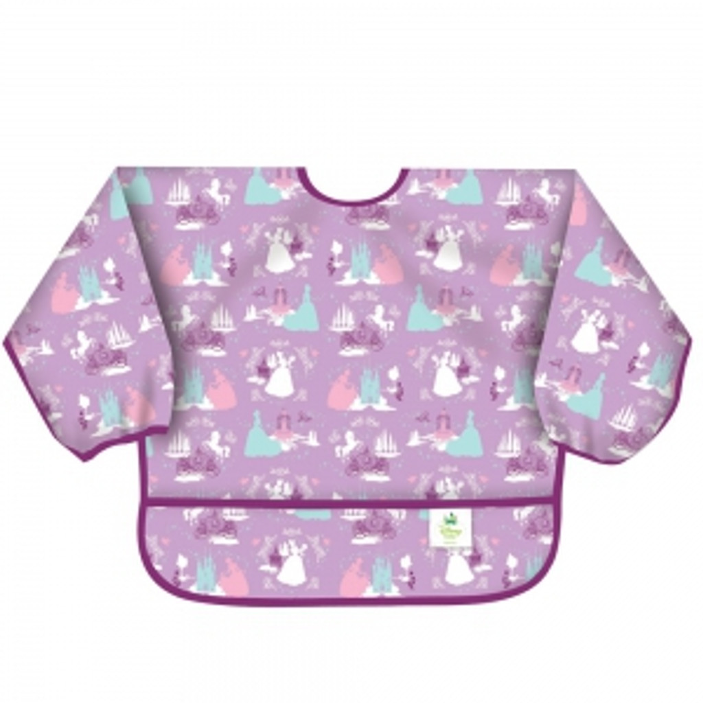 Disney's Princess Purple Sleeved Bib
