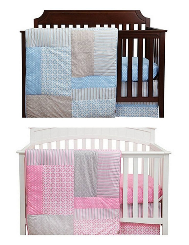 Lily and Logan Crib Bedding Sets