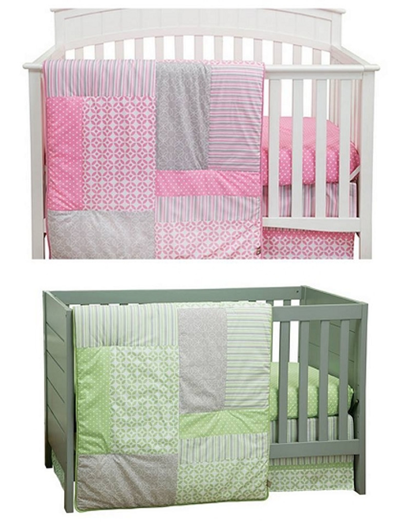 Lily and Lauren Crib Bedding Sets