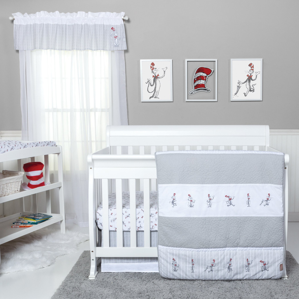 Dr. Seuss™ The Cat in the Hat Comes Back 4 Piece Bedding Set