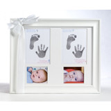 Twin Handprint Keepsake Picture Frame