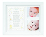 Twin Hearts Poem and Picture Frame