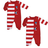Thing 1 and Thing 2 Footed Sleeper Set