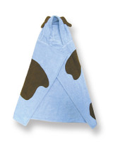 Puppy (blue) Character Hooded Towel
