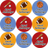 Waterproof Name Labels: Sports
