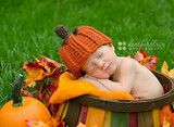 Autumn Harvest Pumpkin Hats (Set of 2)