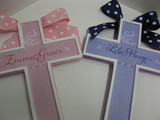 Twin Personalized Crosses