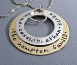 Eternity Family Name Necklace